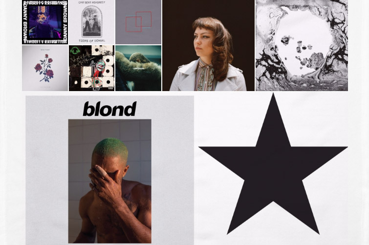 In a year of celebrity loss, political turmoil, and general unrest, 2016 still proved to be an incredible year for music. Indie music, as well as hip-hop and alternative, had a plethora of fresh and inventive releases that proved that there was still light in the year of darkness.