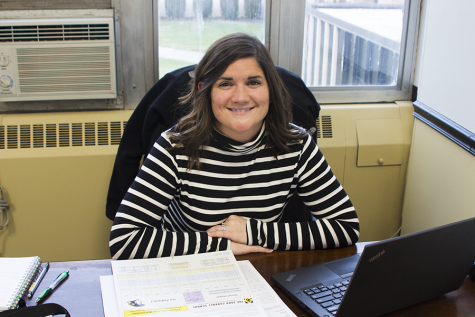 Guidance counselor settles into new position