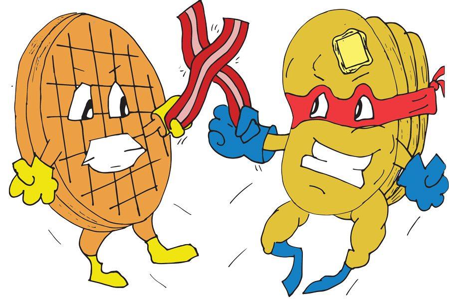 Food+Fight%3A+Waffle+House+and+IHOP