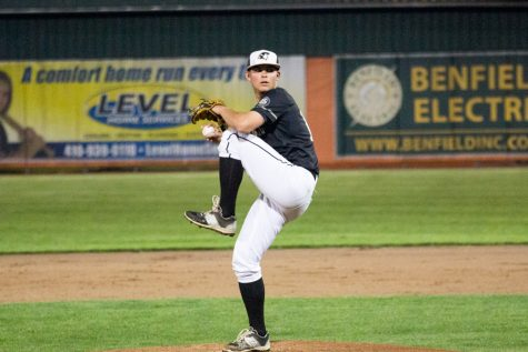 Junior pitcher brings new energy to team