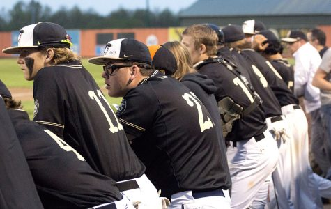 Baseball team improves record