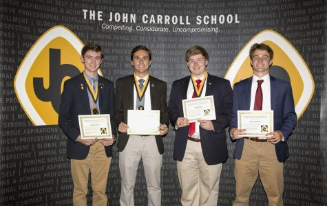 The class of 2017 receives senior awards