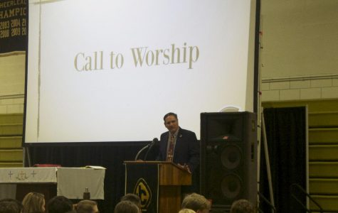 Campus Minister announces return to alma mater