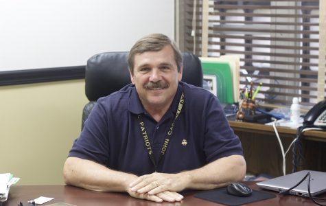 Interim president joins community