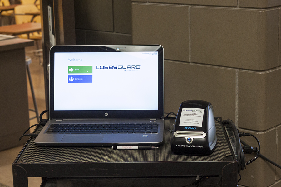 The+LobbyGuard+system+that+allows+students+to+sign+in+with+a+swipe+of+their+student+ID.+The+new+swipe+feature+has+been+instrumental+in+allowing+students+to+sign+in+faster.