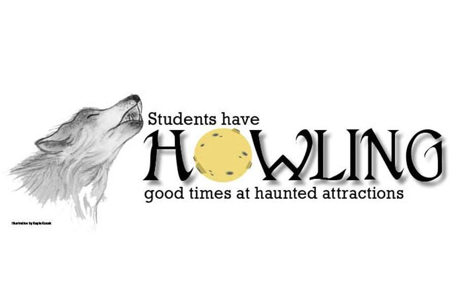 Students have howling good times at haunted attractions
