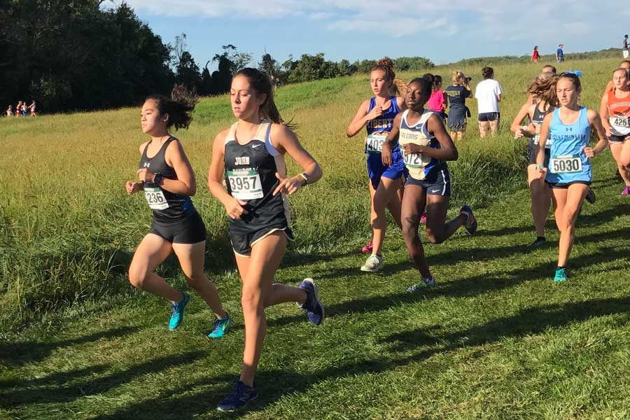 Women's Cross Country rebuilds for next season