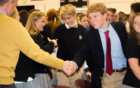 All Saints' Day Mass, Women of the World field trip, and marching band senior night
