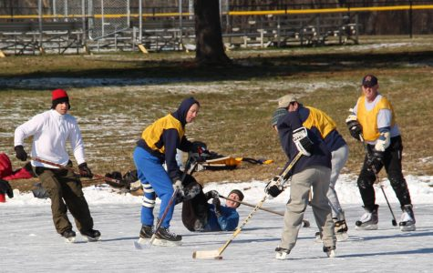 Student plans to form ice hockey team