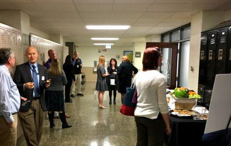 Reception reunites former JC science faculty