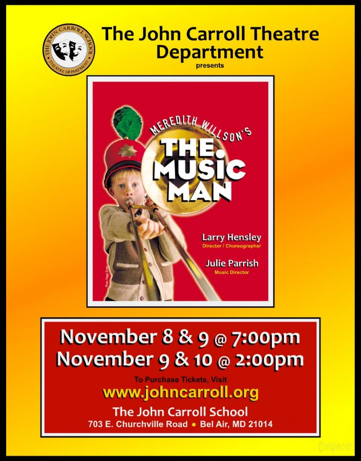 John Carroll Theatre Department to present two musicals: 'The Music Man' and 'Mamma Mia!'