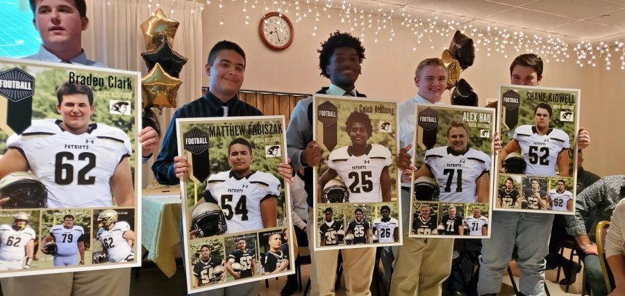 Football banquet is the staple to the end of the season