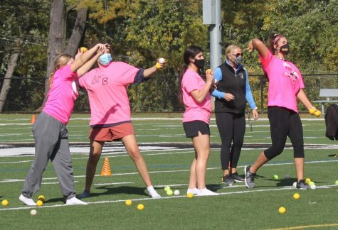Class of 2021 participates in Senior Olympics