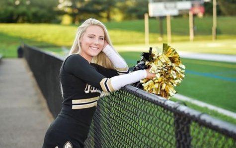 Senior cheerleader reflects on the past, looks toward future