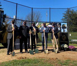 Alumni Field at Kutcher Foundation Stadium breaks ground to begin construction
