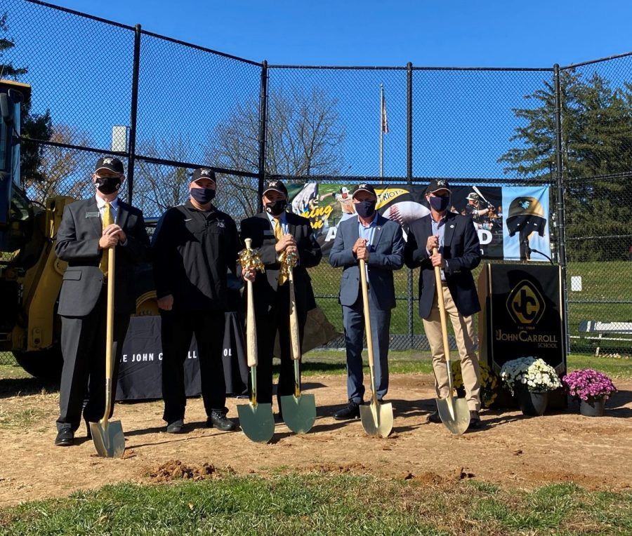 Alumni Field at Kutcher Foundation Stadium breaks ground to begin construction