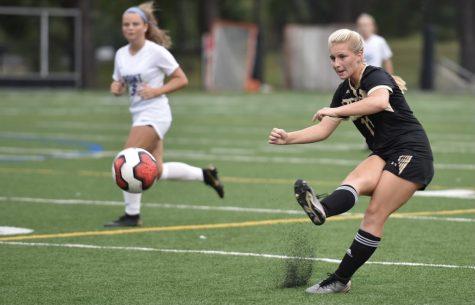 Allison Krieger plays varsity soccer for John Carroll
