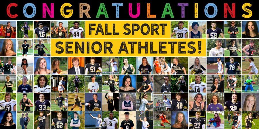 Senior fall athletes are being recognized in a different way this year