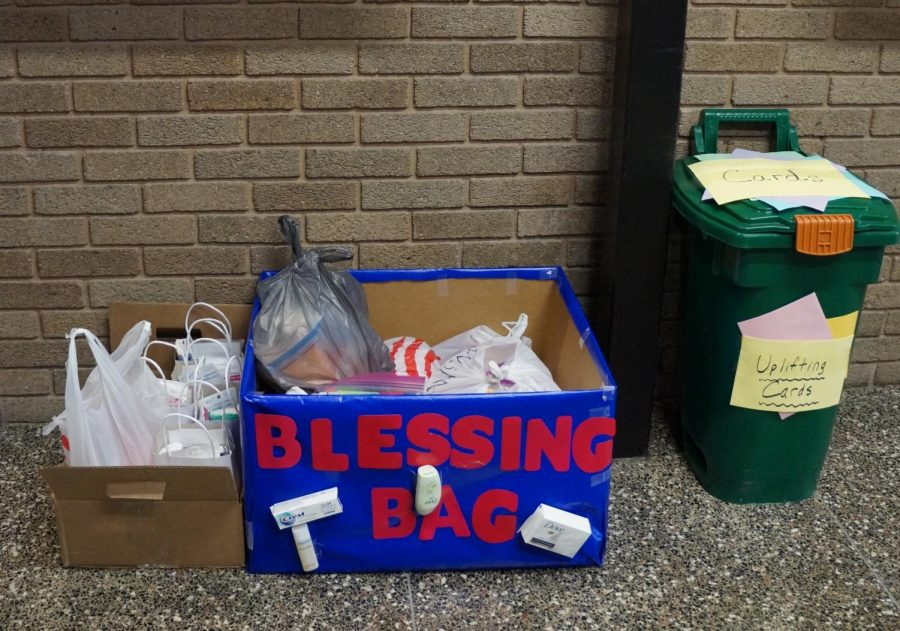 Blessing Bags have overwhelming response from students