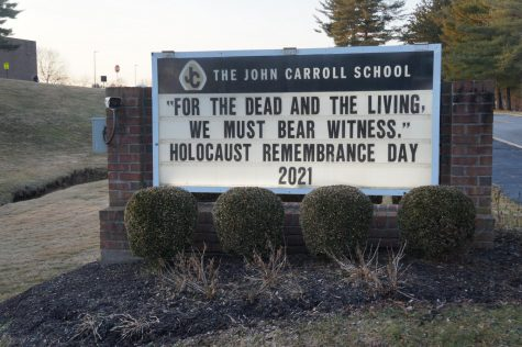 2021 Seniors attend events to remember those who experienced the Holocaust