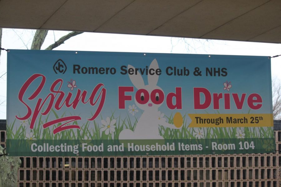 Spring Food Drive is a success