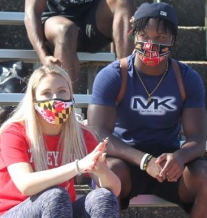 Masks have become another daily accessory at school for students, teachers, & staff