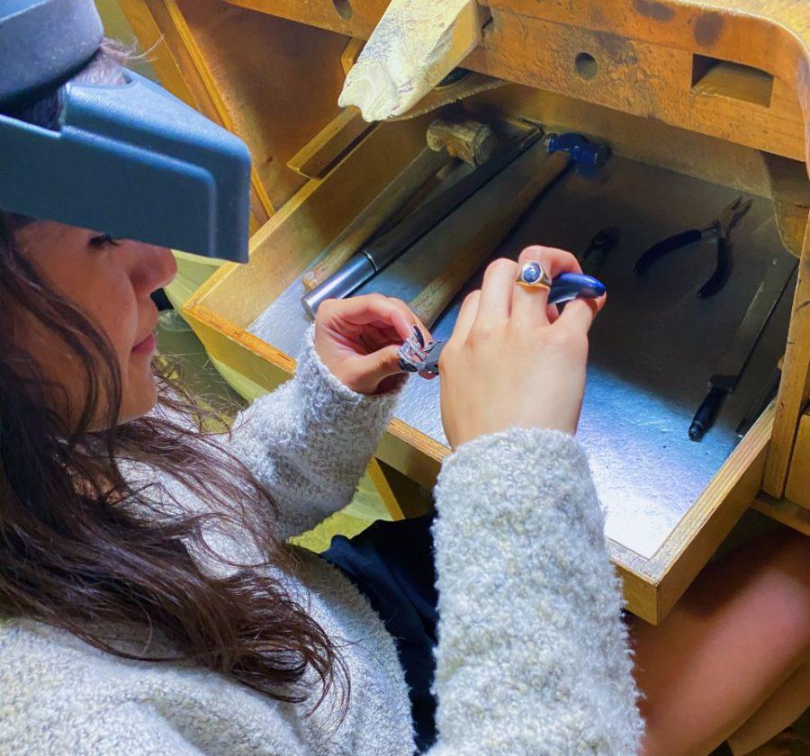 Amato explores the art of jewelry making