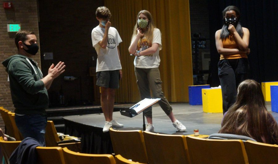 """Cast and crew of 'The 25th Annual Putnam County Spelling Bee"""" continue rehearsals"""